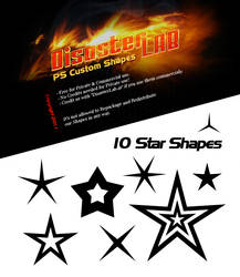10 Star Shapes by DisasterLab