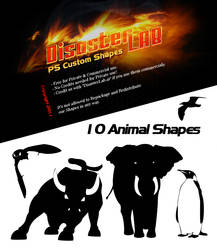 10 Animal Shapes by DisasterLab