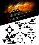 10 Triangle Shapes