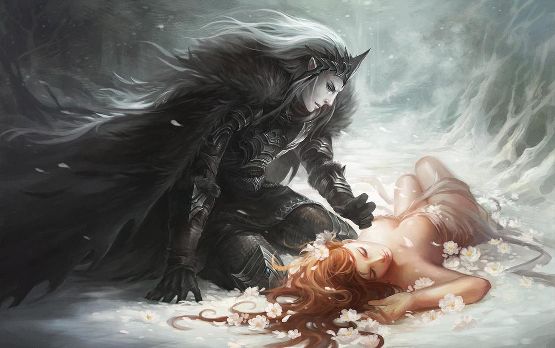 Hades and Persephone (Part 1) by WritingByCandlelight