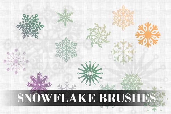Snowflake brushes by PhotoshopdesaiN