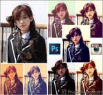Efek Instagram whit Photoshop Curves