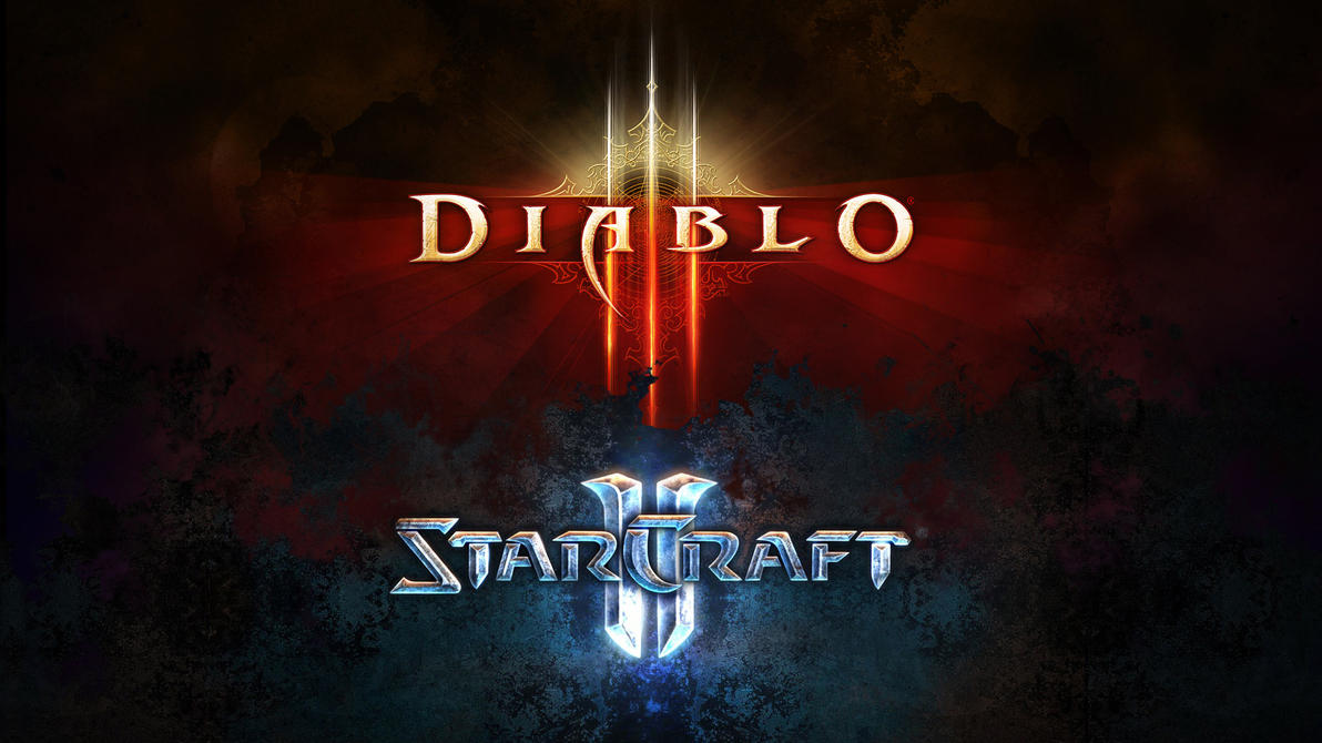 Diablo 3 vs StarCraft 2 by hafele