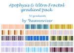 Apophysis gradient pack - 50x