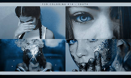 PSD COLORING #18 | YOUTH