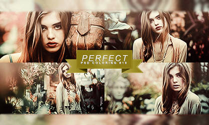 PSD COLORING #19 | PERFECT