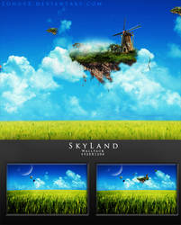 SkyLand - Wallpack