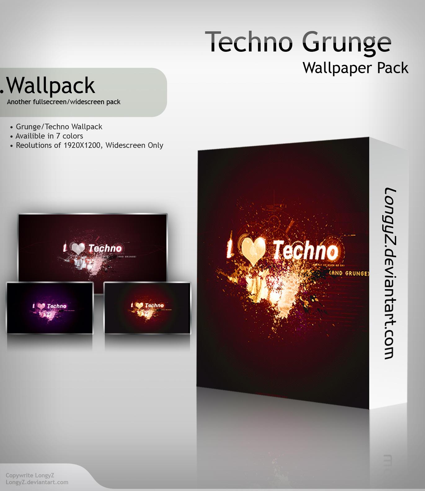 Techno Grunge by LongyZ