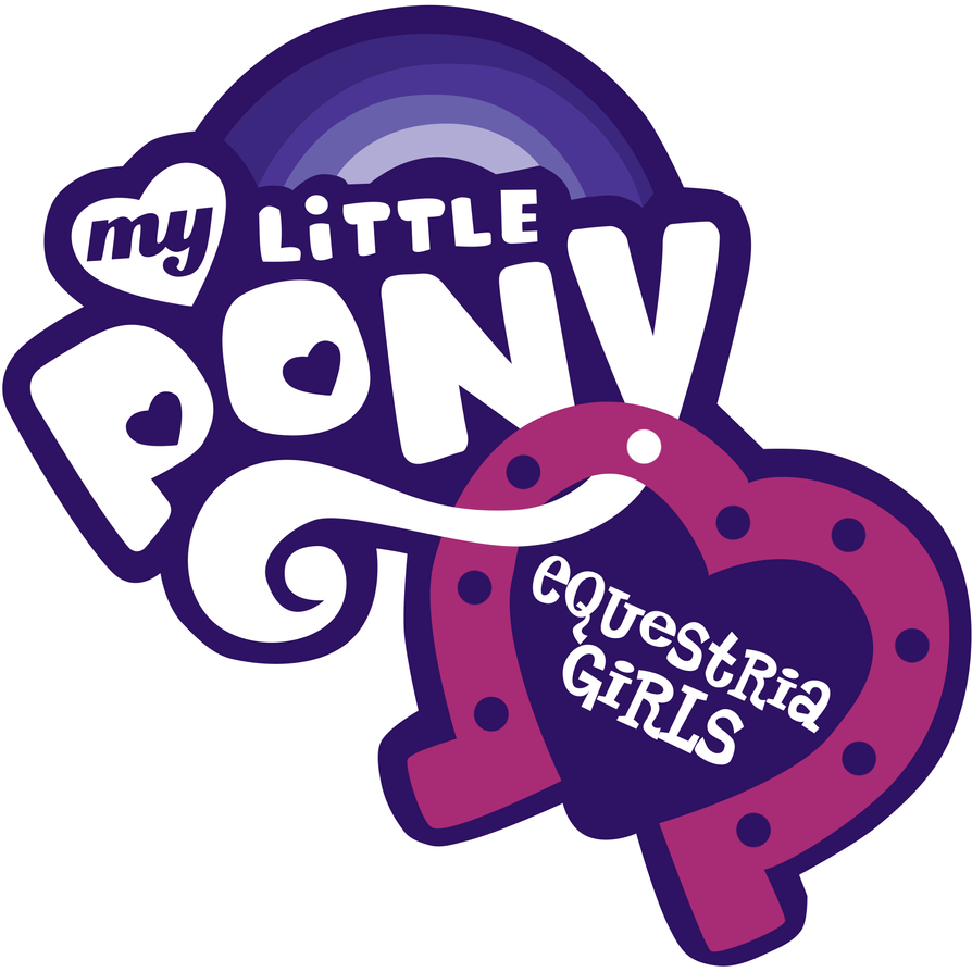 My Little Pony: Equestria Girls logo by Charleston-and-Itchy