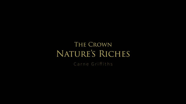 The Crown - From Nature's Riches Series -Tiltbrush