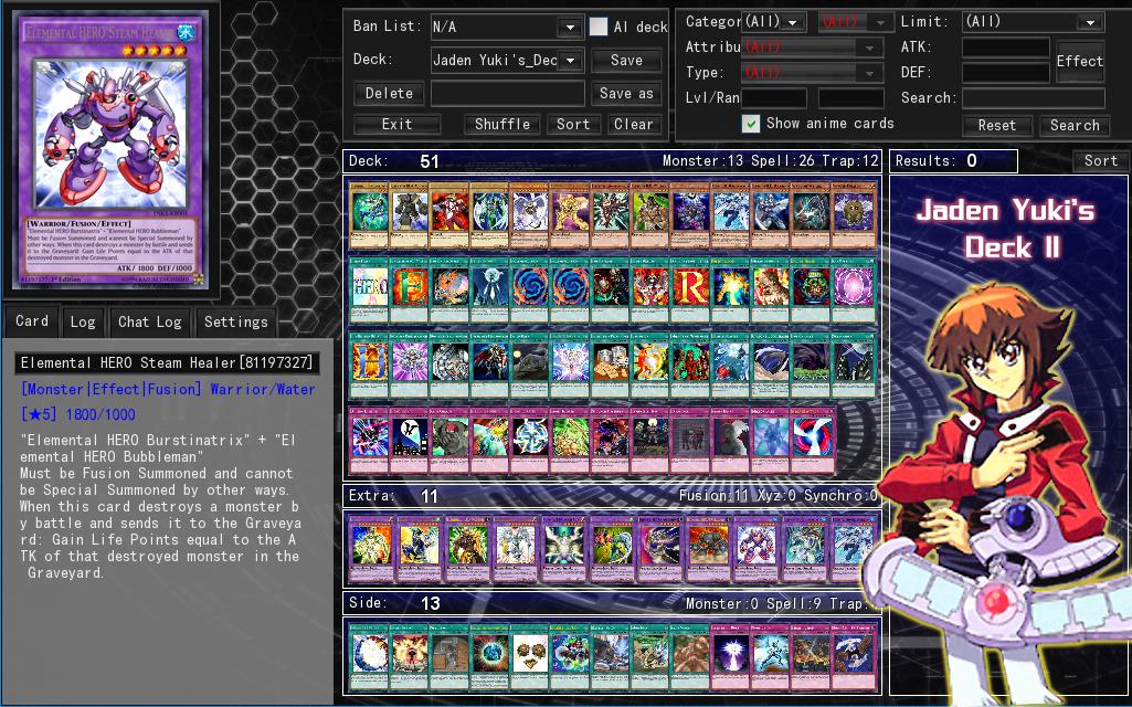 Jaden Yuki's Deck 2 by Septimoangel12 on DeviantArt