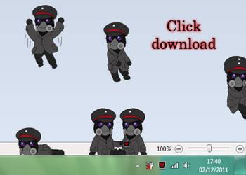 Captain desktop buddy by BlueSmudge by alexiuss