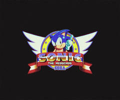 Sonic the Hedgehog 199X Intro GIF