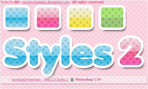 Free Web 2.0 Styles 2 by recanto-feminino