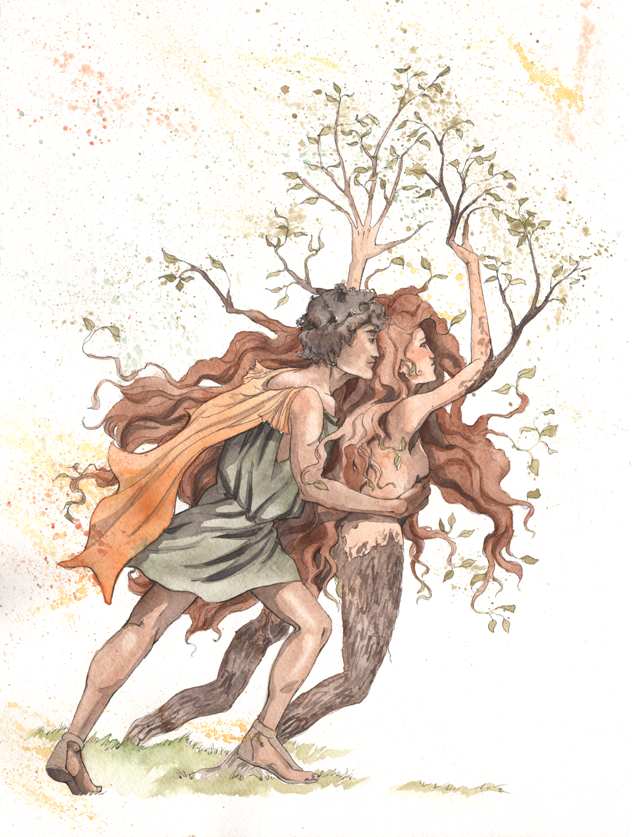 Apollo and Daphne by fawnmaiden on DeviantArt