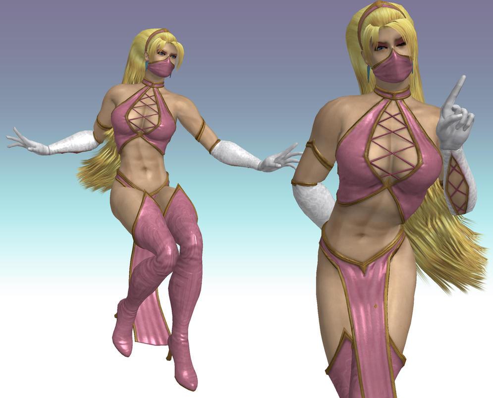 Princess Peachtana - model retexture by Utopian-MK