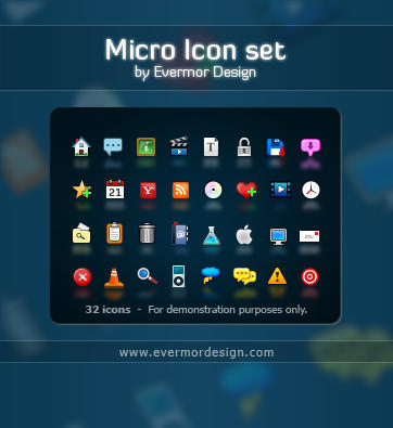 Micro Icons by Remitrom73