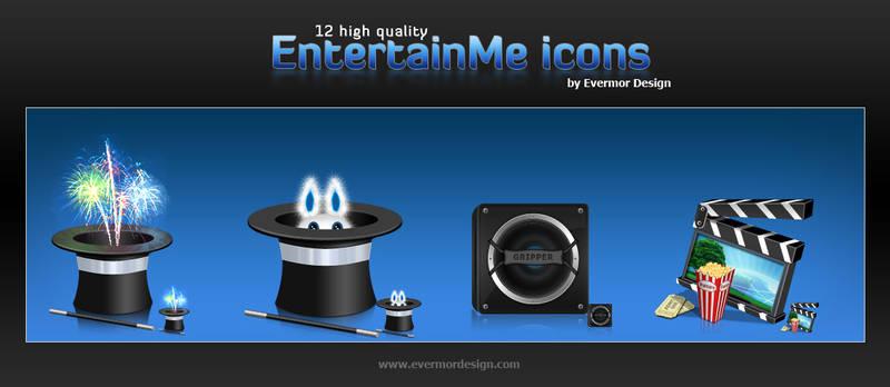 EntertainMe Icon set
