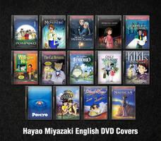 Miyazaki English DVD Icons