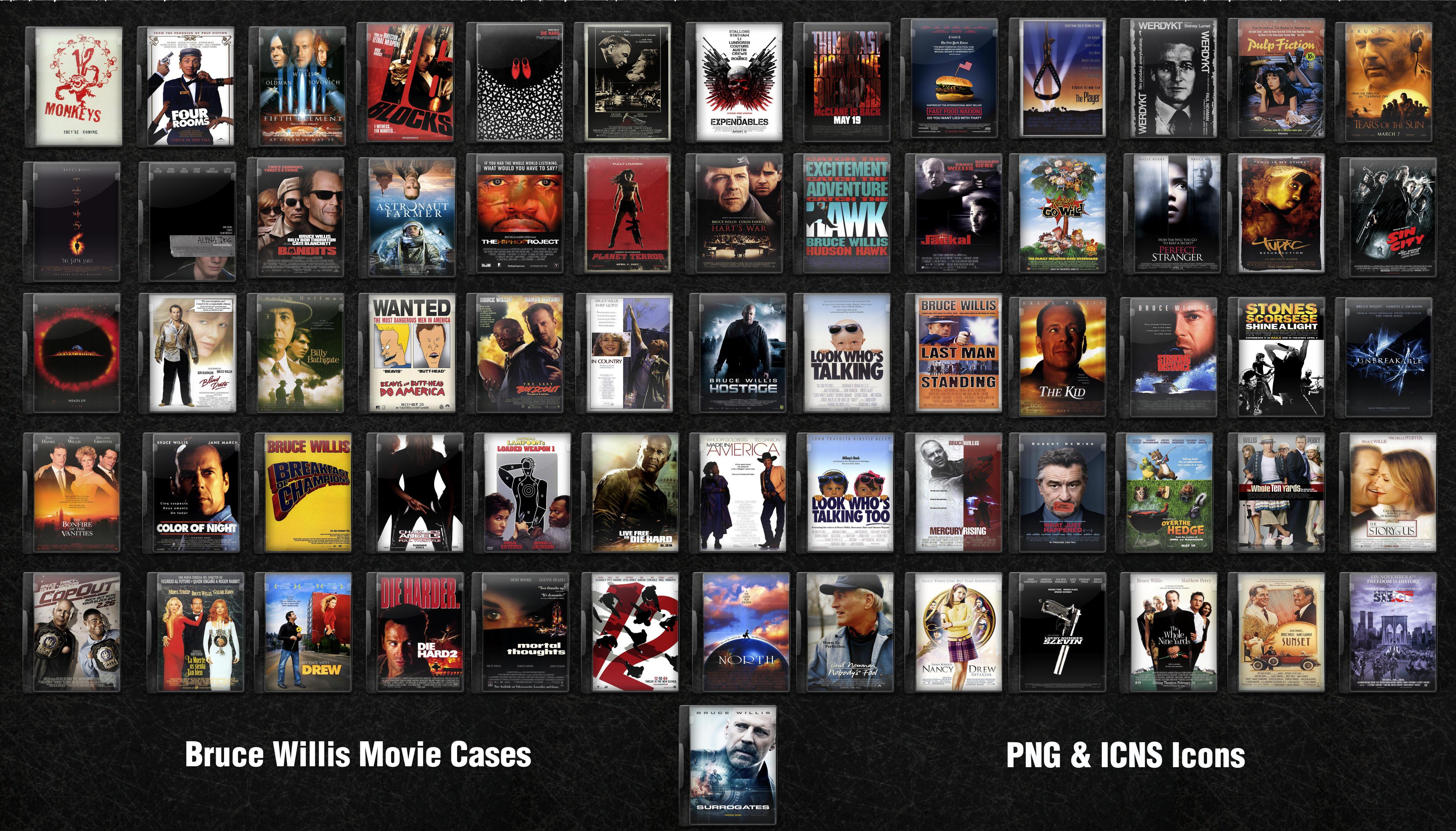 Bruce Willis DVD Movie... Bruce Willis Movies