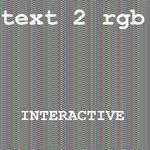 Text2rgb