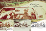 vintage action + PSD