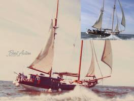 Boat Action by NOSHAAlHEWAISHEL