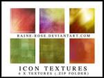 Icon Textures x 6