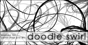 + Image Pack . Doodle Swirls