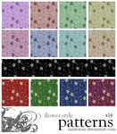 Flower-Style Patterns