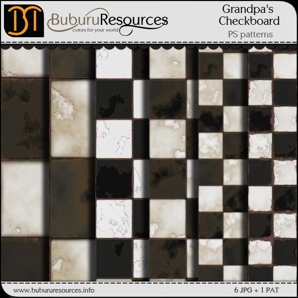 Grandpas Checkboard patterns by BuburuResources