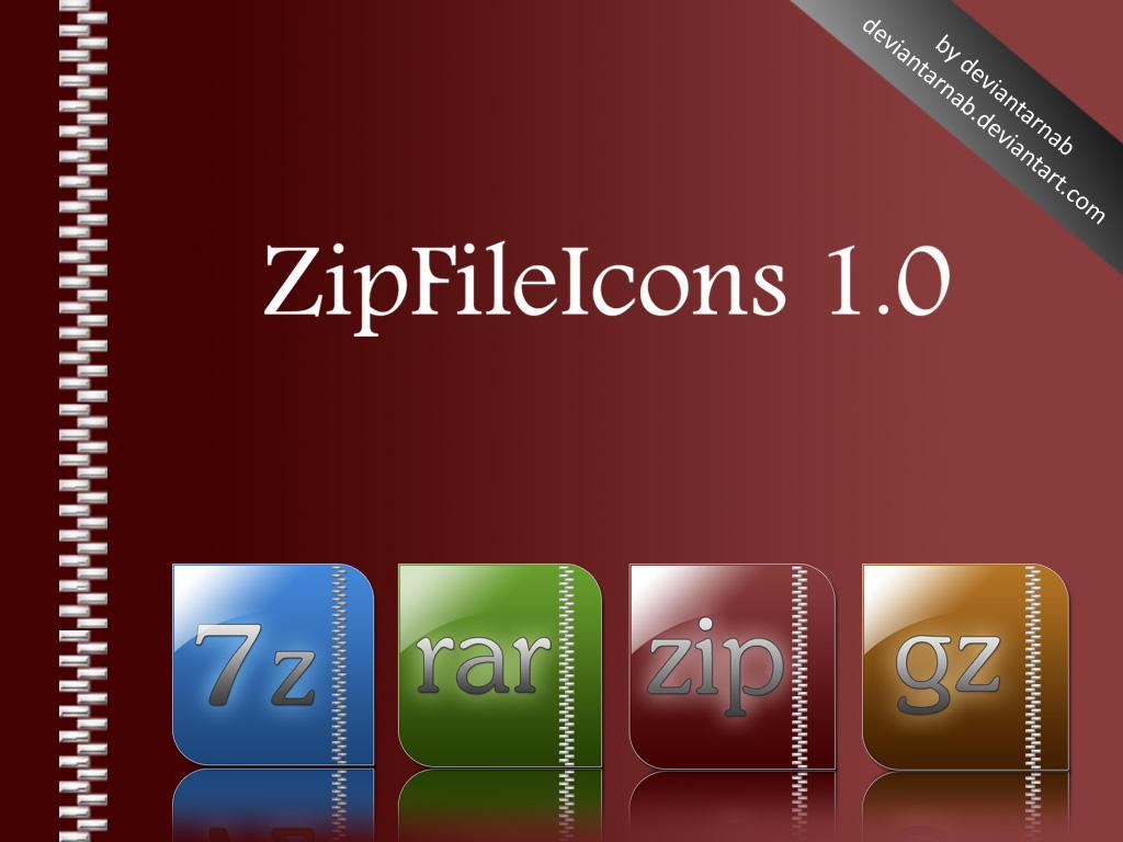 ZipFileIcons by deviantarnab