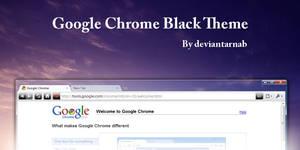 Google Chrome Black Theme