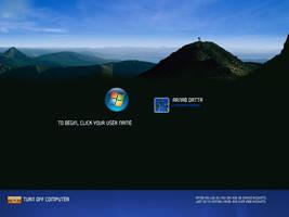 Vista Login Premium by deviantarnab