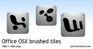 Office OSX brushed tiles