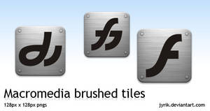 Macromedia brushed tiles