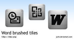 OfficeXP brushed tiles