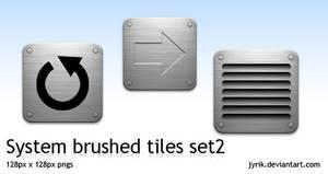 System set 2 Brushed Tiles by JyriK