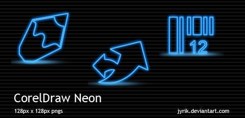 CorelDraw Neon by JyriK