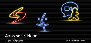 Apps set 4 Neon