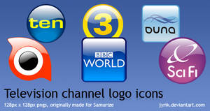 Television Channel logo icons