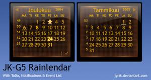 JK-G5 Rainlendar by JyriK