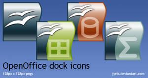 OpenOffice dock icons