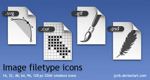 Image filetype icons