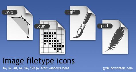 Image filetype icons by JyriK