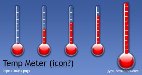 Temperature meter by JyriK