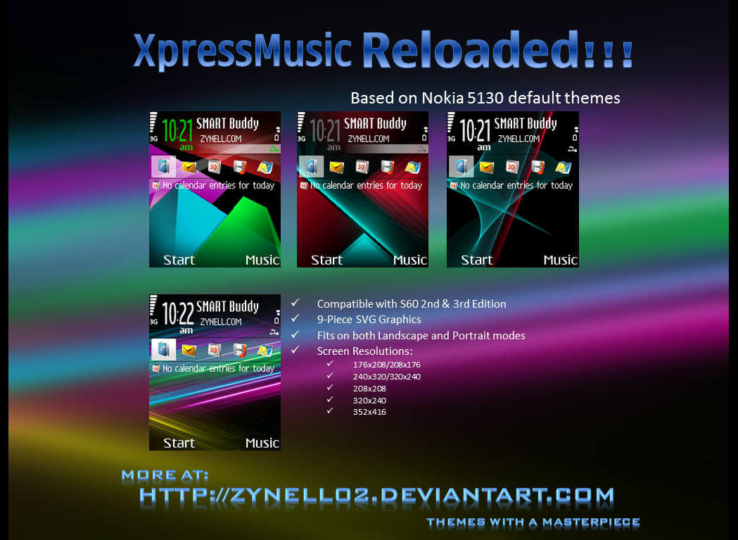 XpressMusic Reloaded by zynell02 on DeviantArt