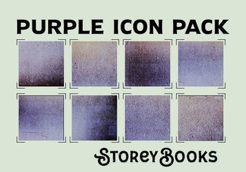 StoreBooks Purple Icon Pack by storeybooks