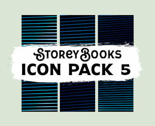 StoreyBooks Icon Pack 5 by storeybooks