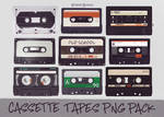 StoryBooks Cassette Tape Transparent PNG Pack